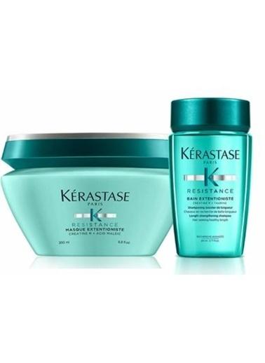 Kerastase Kerastase Resistance Extentioniste Bakım Maskesi 200 ml + Extentioniste Canlancırıcı Şampuan 80 ml Renksiz